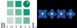 Logo Biotrial - Logo ERBC